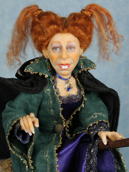 I'll Put a Spell On You - One-Of-A-Kind Doll by Tanya Abaimova. Characters Gallery