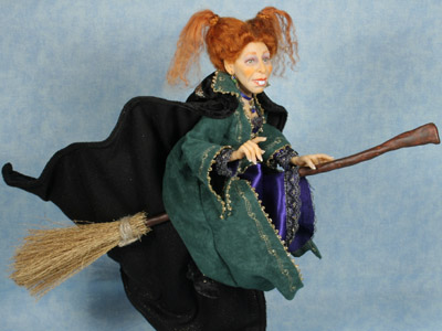 I'll Put a Spell On You - One-of-a-kind Art Doll by Tanya Abaimova