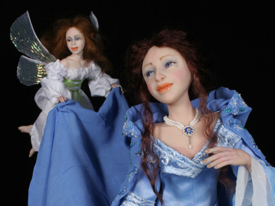 In Fairyland - One-of-a-kind Art Doll by Tanya Abaimova