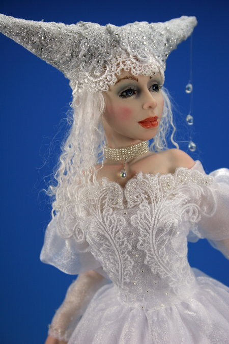 Winter - One-Of-A-Kind Doll by Tanya Abaimova. Characters Gallery