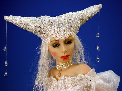 Winter - One-of-a-kind Art Doll by Tanya Abaimova