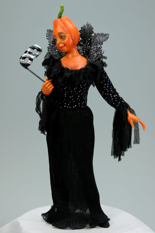 Halloween Masquerade - One-Of-A-Kind Doll by Tanya Abaimova. Picture #0