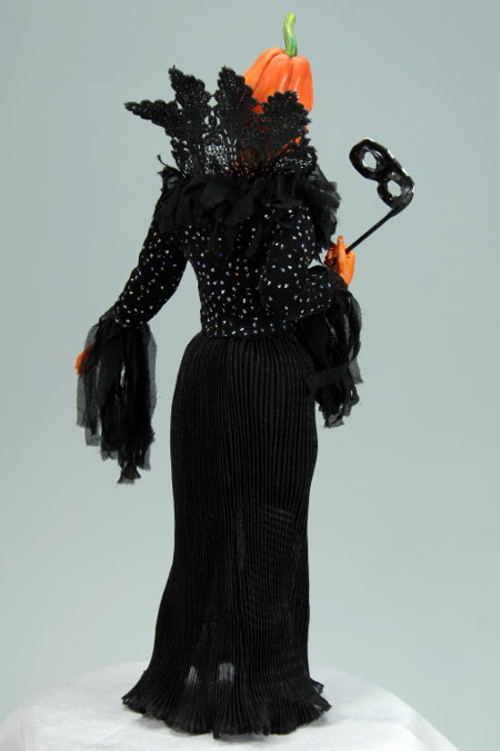 Halloween Masquerade - One-Of-A-Kind Doll by Tanya Abaimova. Picture #3