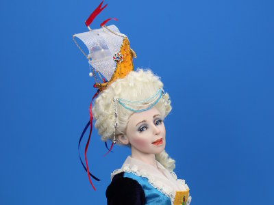 Maiden Voyage - One-of-a-kind Art Doll by Tanya Abaimova