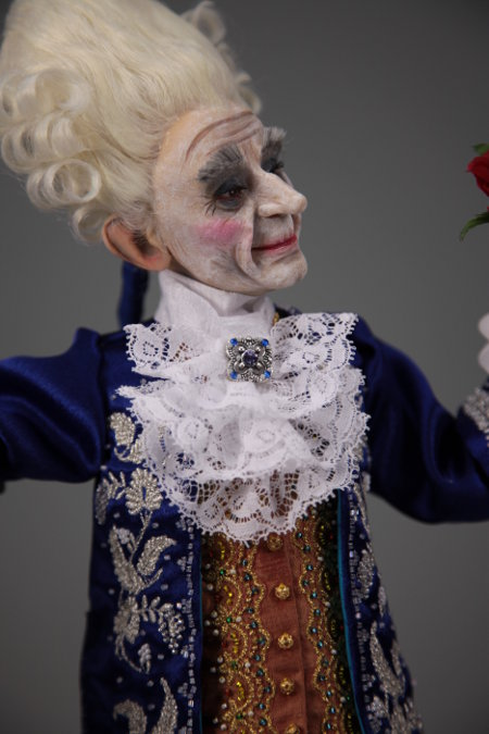 Old Gigolo - One-Of-A-Kind Doll by Tanya Abaimova. Characters Gallery