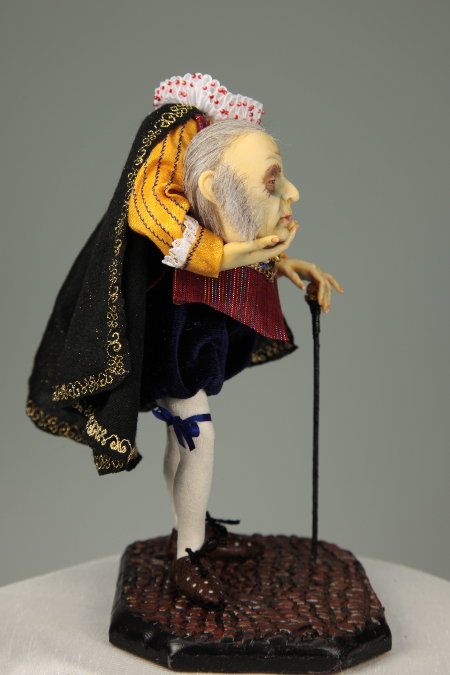 Headless Count - One-Of-A-Kind Doll by Tanya Abaimova. Creatures Gallery