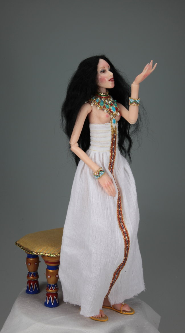 Lotus - One-Of-A-Kind Doll by Tanya Abaimova. Ball-Jointed Dolls Gallery