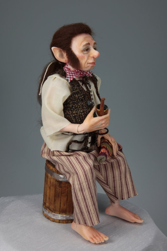 Old Sailor - One-Of-A-Kind Doll by Tanya Abaimova. Ball-Jointed Dolls Gallery