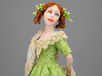 Country Summer - One-of-a-kind Art Doll by Tanya Abaimova