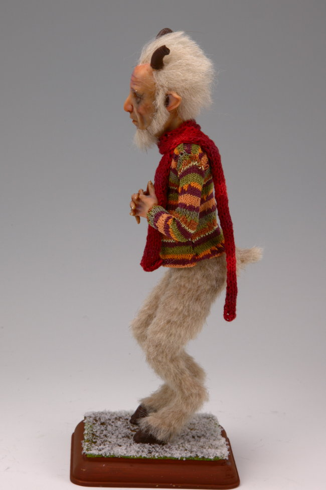 Old Satyr - One-Of-A-Kind Doll by Tanya Abaimova. Creatures Gallery