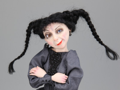 Belladonna - One-of-a-kind Art Doll by Tanya Abaimova