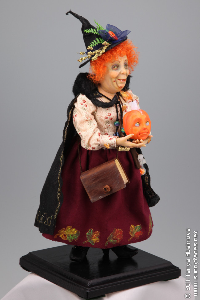 Halloween Welcome - One-Of-A-Kind Doll by Tanya Abaimova. Characters Gallery