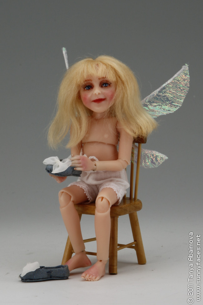 Sky - One-Of-A-Kind Doll by Tanya Abaimova. Ball-Jointed Dolls Gallery