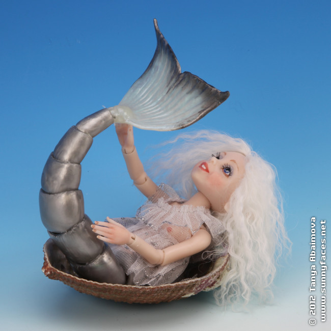 Pearl - One-Of-A-Kind Doll by Tanya Abaimova. Ball-Jointed Dolls Gallery