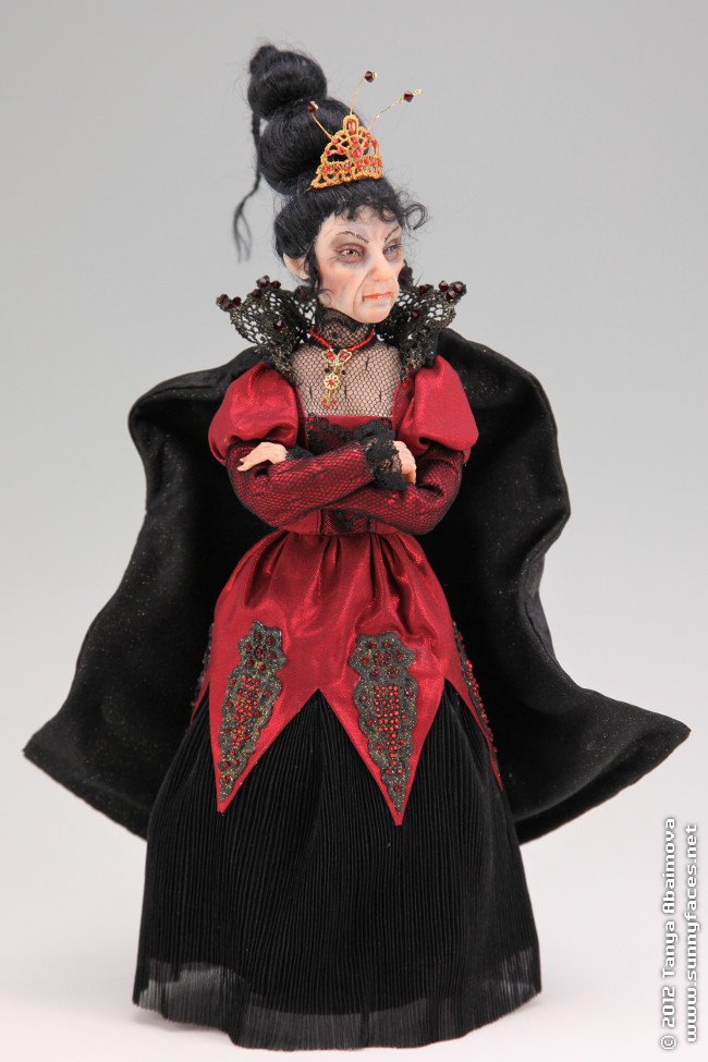 Esme The Witch Queen - One-Of-A-Kind Doll by Tanya Abaimova. Characters Gallery