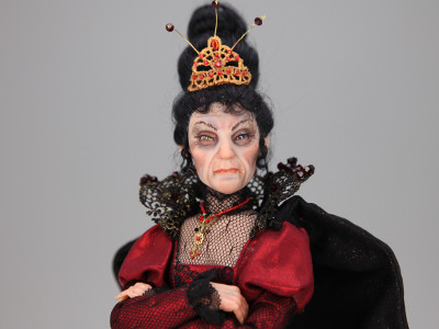 Esme The Witch Queen - One-of-a-kind Art Doll by Tanya Abaimova