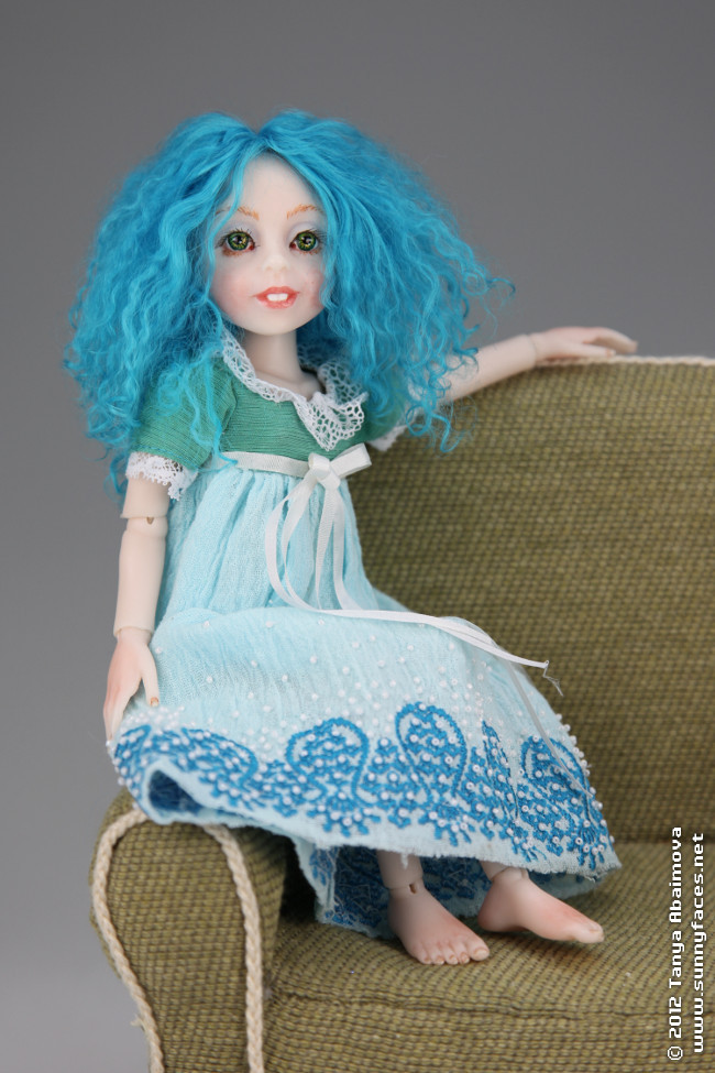 Little Cloud - One-Of-A-Kind Doll by Tanya Abaimova. Ball-Jointed Dolls Gallery