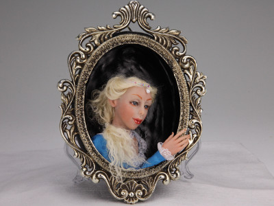 Framed Beauty - One-of-a-kind Art Doll by Tanya Abaimova