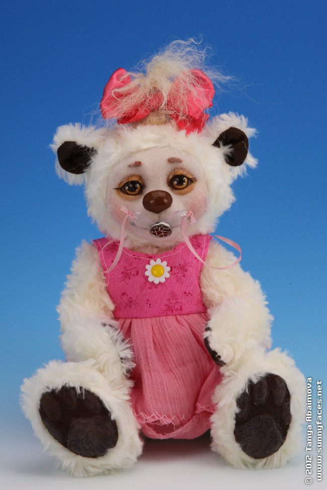 Candy - One-Of-A-Kind Doll by Tanya Abaimova. Soft Sculptures Gallery