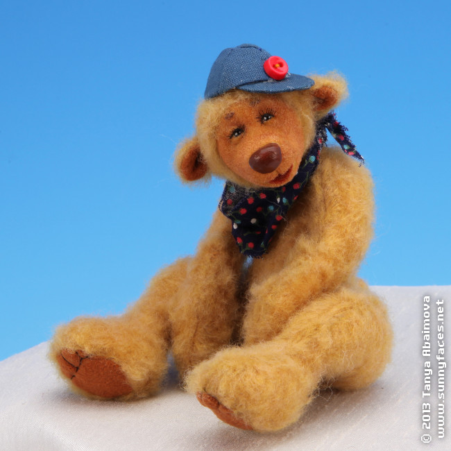 Joe - One-Of-A-Kind Doll by Tanya Abaimova. Soft Sculptures Gallery