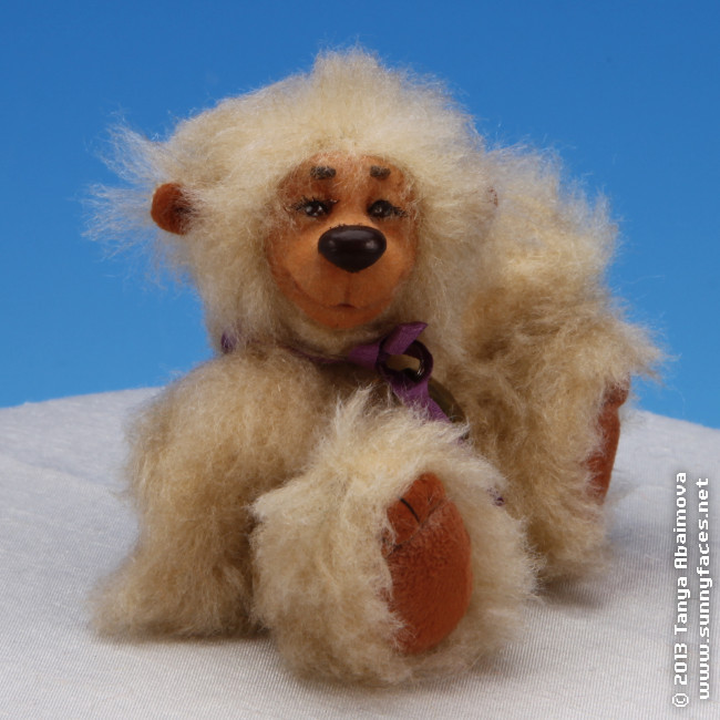 Kip - One-Of-A-Kind Doll by Tanya Abaimova. Soft Sculptures Gallery