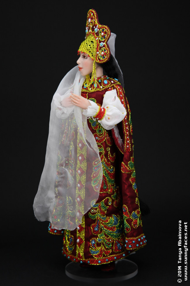 Lubava - One-Of-A-Kind Doll by Tanya Abaimova. Ball-Jointed Dolls Gallery