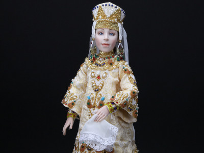 Svetlana - One-of-a-kind Art Doll by Tanya Abaimova