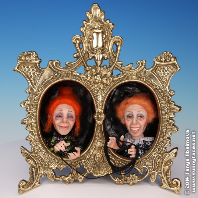 Witch Sisters - One-Of-A-Kind Doll by Tanya Abaimova. Characters Gallery