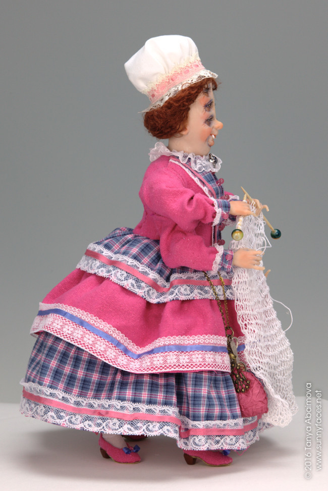 Mrs. Lightfoot - One-Of-A-Kind Doll by Tanya Abaimova. Creatures Gallery