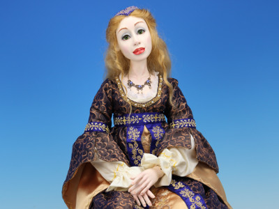 Rebecca - One-of-a-kind Art Doll by Tanya Abaimova