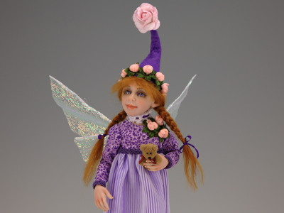 Petal - One-of-a-kind Art Doll by Tanya Abaimova