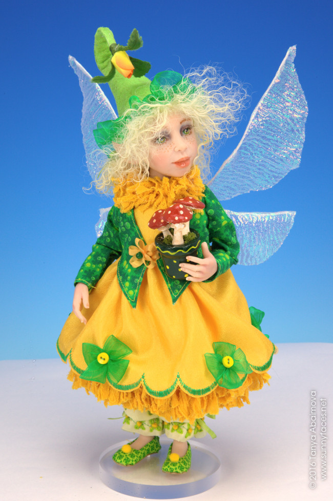 Dandelion - One-Of-A-Kind Doll by Tanya Abaimova. Creatures Gallery