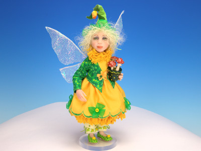 Dandelion - One-of-a-kind Art Doll by Tanya Abaimova