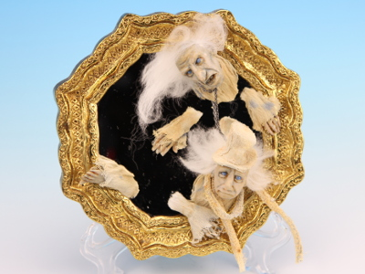 Ghost Mirror - One-of-a-kind Art Doll by Tanya Abaimova