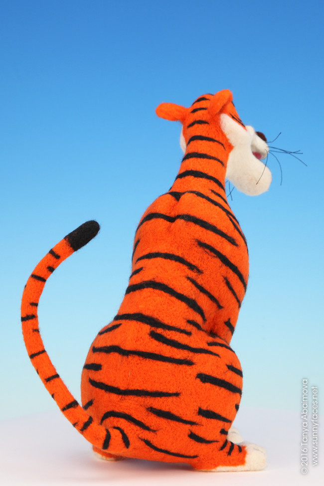 Shere Khan - One-Of-A-Kind Doll by Tanya Abaimova. Soft Sculptures Gallery