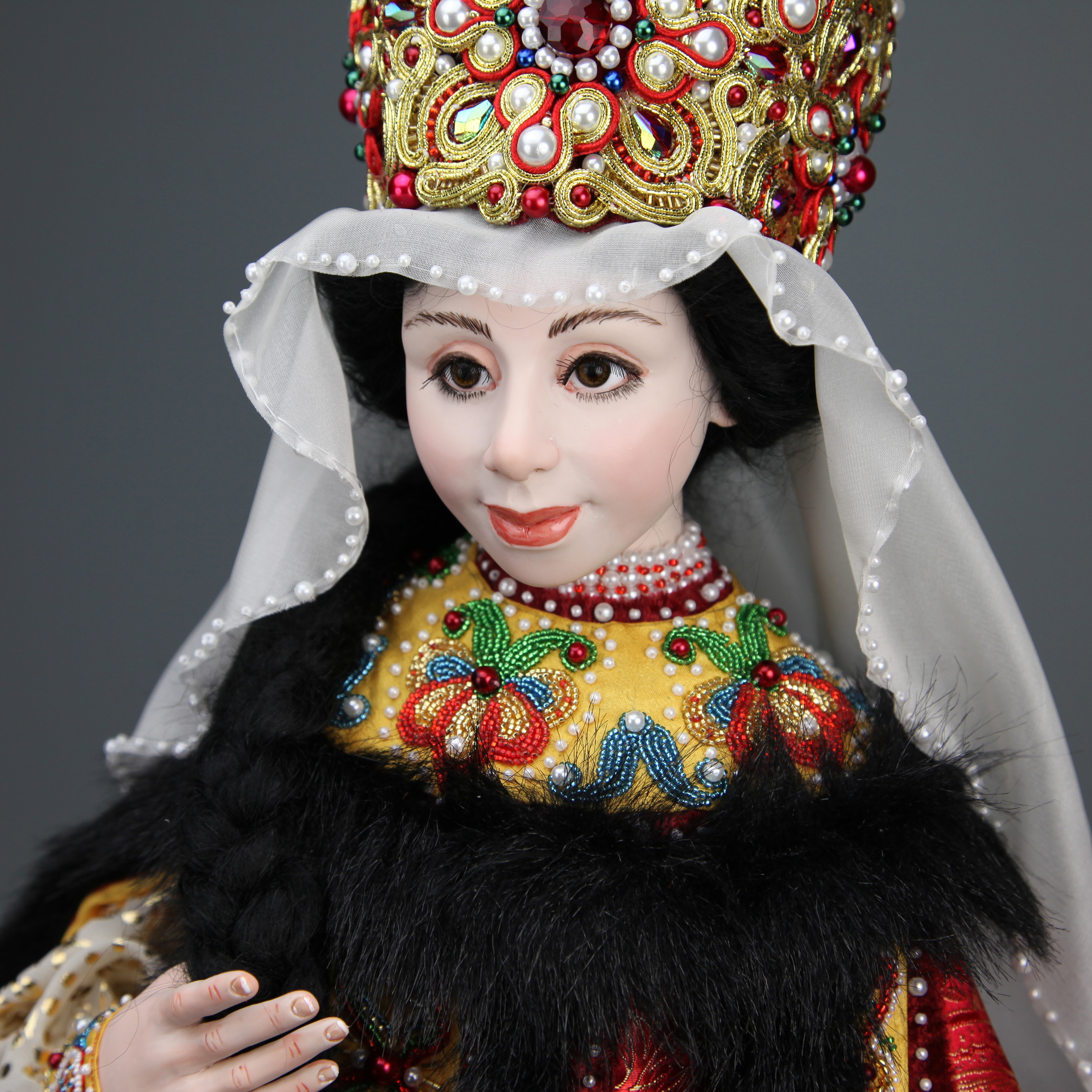 Katherine - One-Of-A-Kind Doll by Tanya Abaimova. Characters Gallery