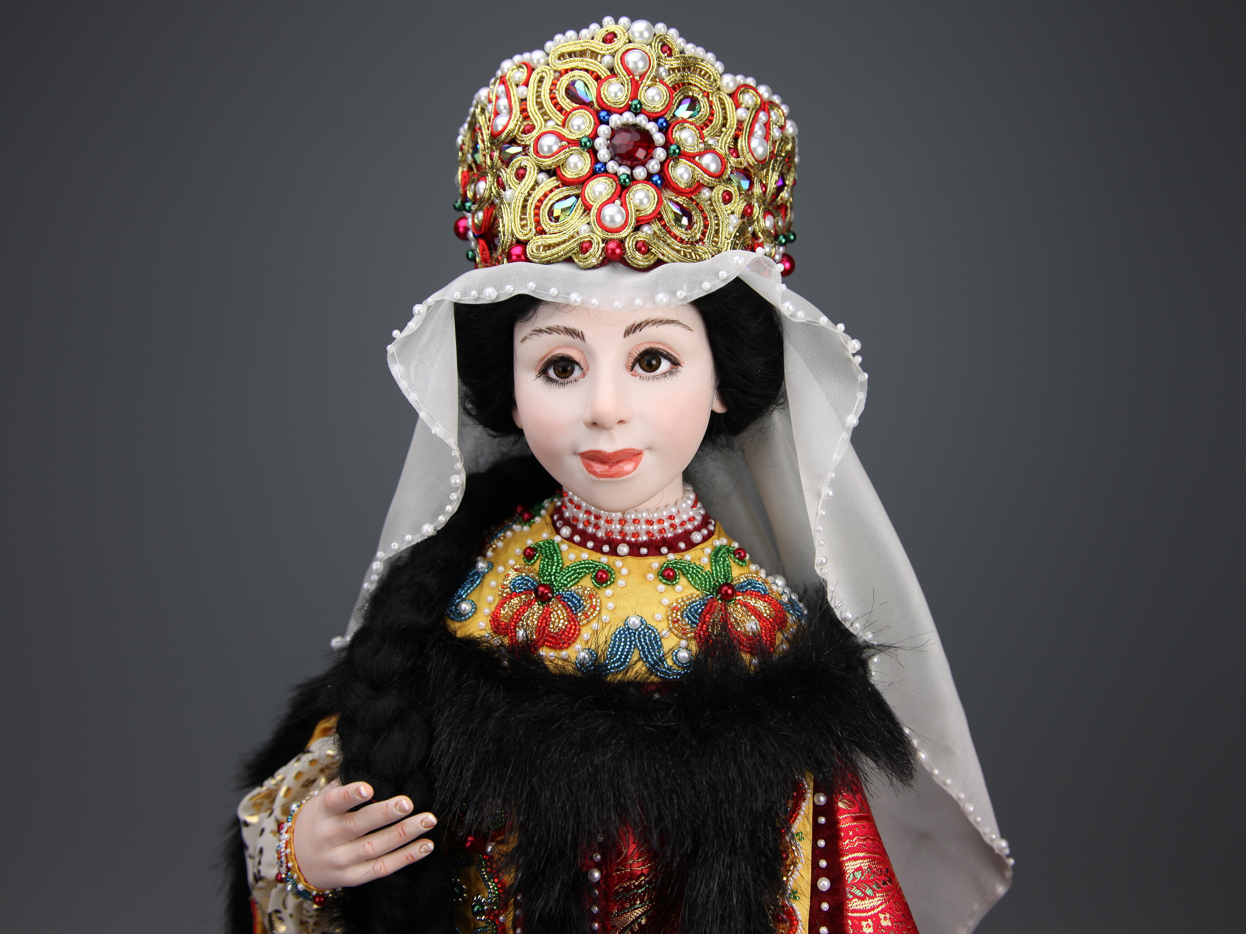 Katherine - One-of-a-kind Art Doll by Tanya Abaimova