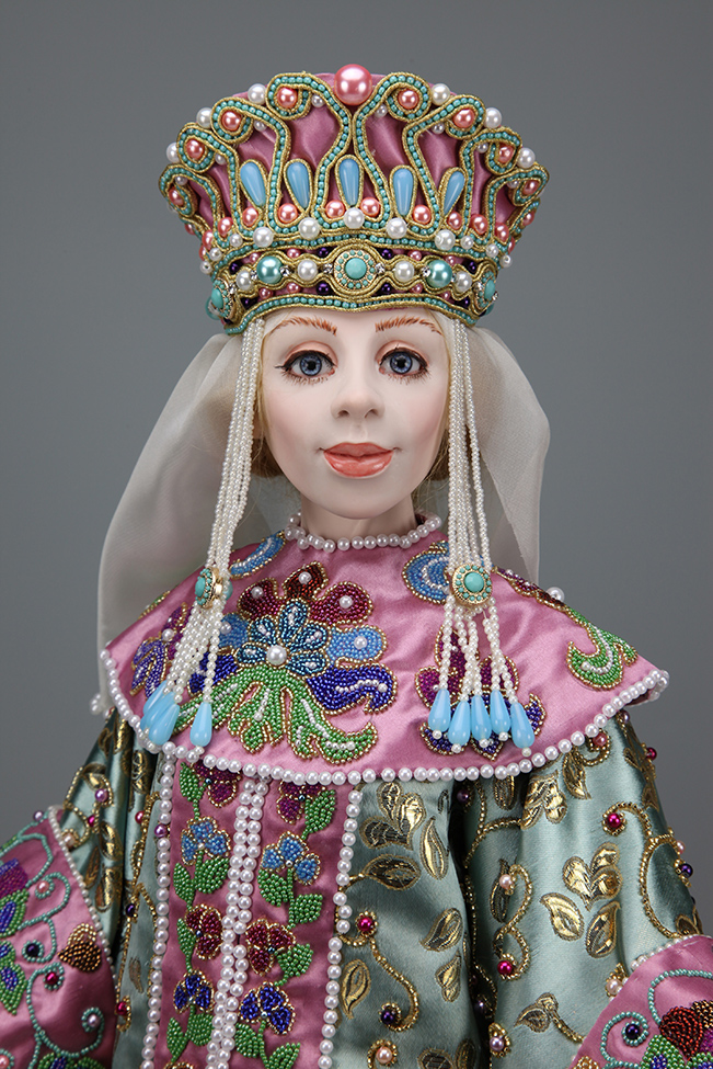 Olga - One-Of-A-Kind Doll by Tanya Abaimova. Characters Gallery