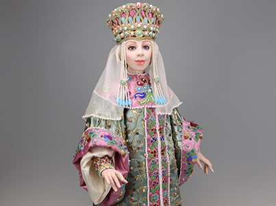 Olga - One-of-a-kind Art Doll by Tanya Abaimova