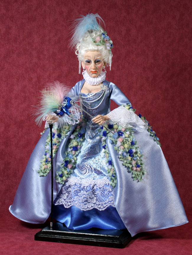 Marquise - One-Of-A-Kind Doll by Tanya Abaimova. Characters Gallery
