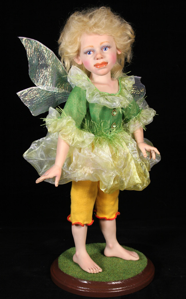 Summer Fairy - One-Of-A-Kind Doll by Tanya Abaimova. Creatures Gallery