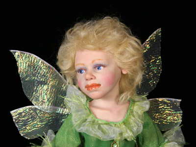 Summer Fairy - One-of-a-kind Art Doll by Tanya Abaimova