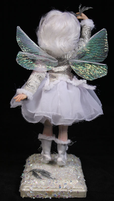 Snowflake Fairy - One-Of-A-Kind Doll by Tanya Abaimova. Creatures Gallery