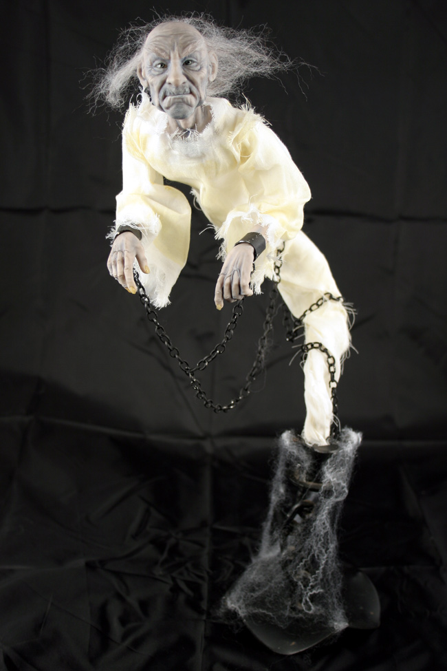 Ghost in Chains - One-Of-A-Kind Doll by Tanya Abaimova. Creatures Gallery