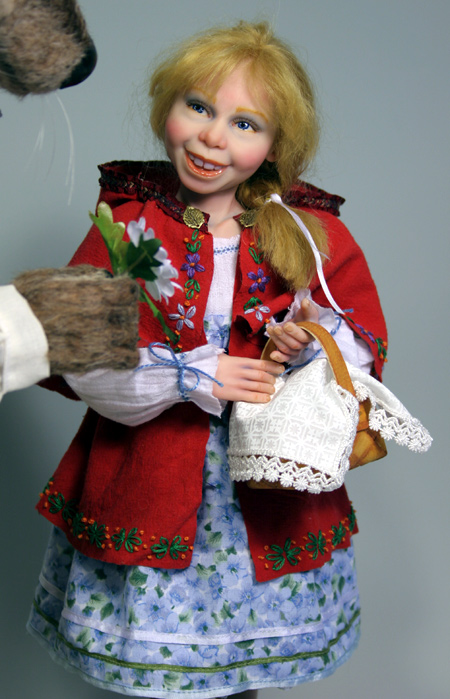 Little Red Riding Hood - One-Of-A-Kind Doll by Tanya Abaimova. Characters Gallery