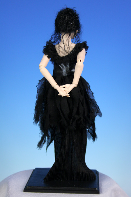 Color: Black - One-Of-A-Kind Doll by Tanya Abaimova. Ball-Jointed Dolls Gallery