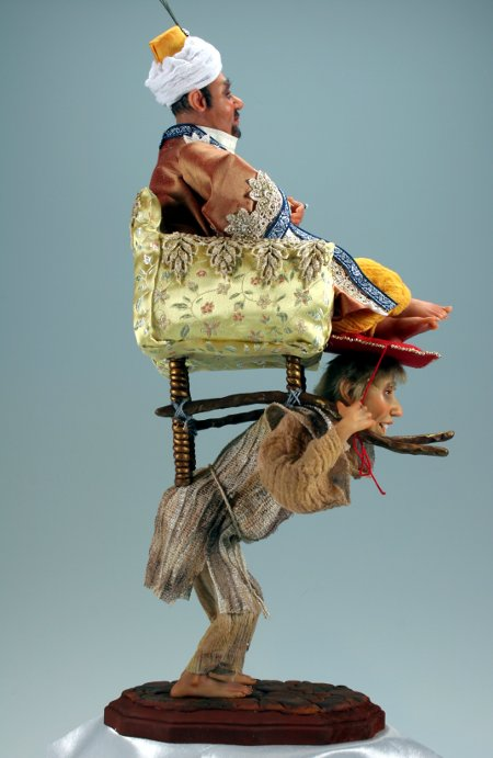 Rickshaw - One-Of-A-Kind Doll by Tanya Abaimova. Characters Gallery