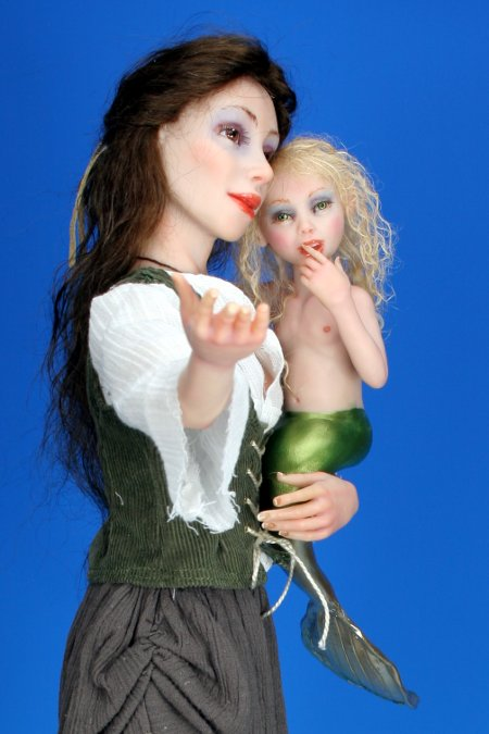Precious Find - One-Of-A-Kind Doll by Tanya Abaimova. Characters Gallery