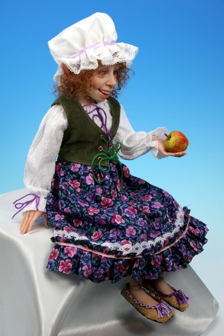 Lavender - One-Of-A-Kind Doll by Tanya Abaimova. Ball-Jointed Dolls Gallery