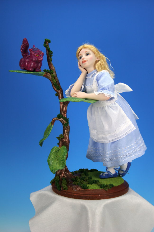 Alice in Wonderland - One-Of-A-Kind Doll by Tanya Abaimova. Characters Gallery